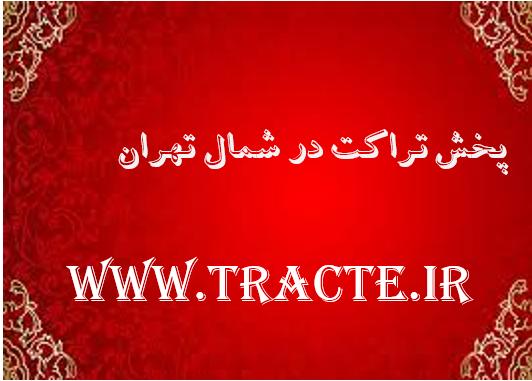 پخش تراکت در شمال تهران